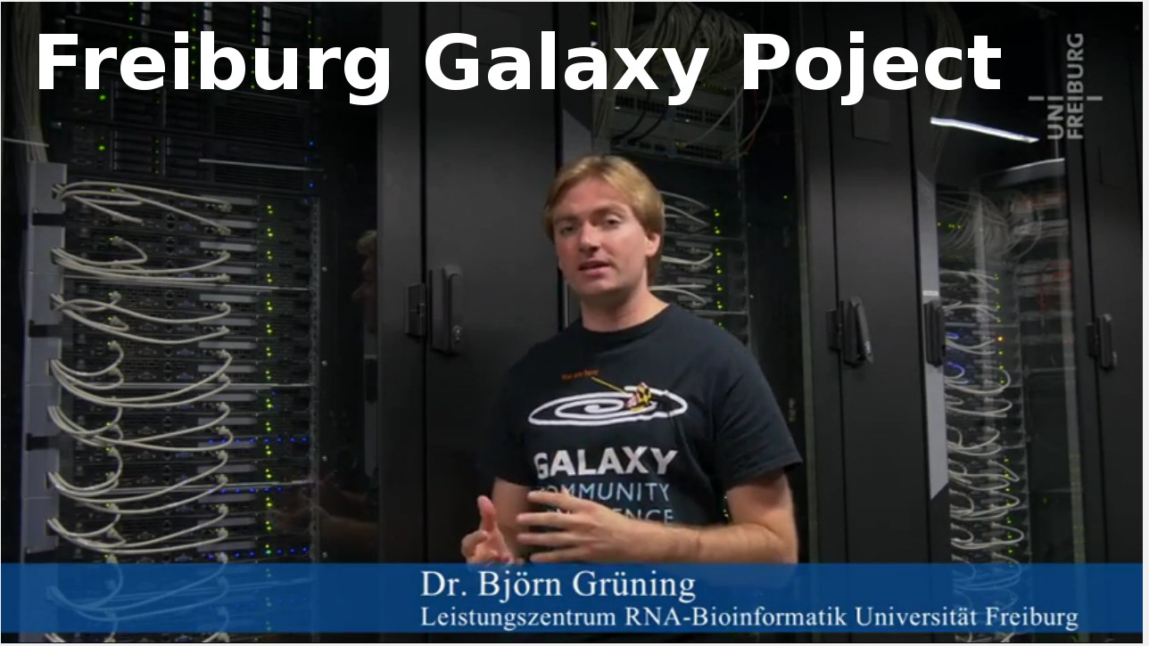The Freiburg Galaxy Project video